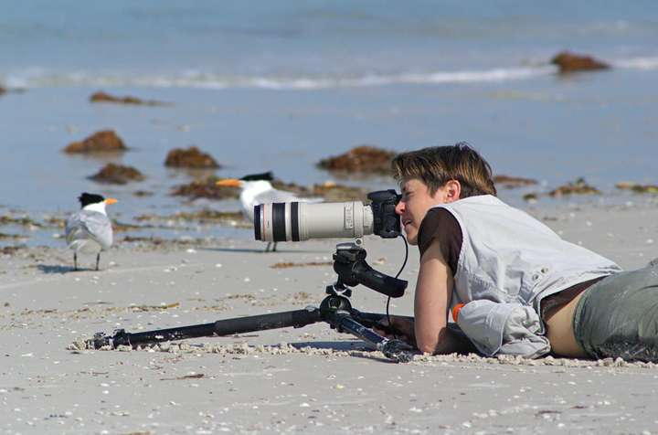 Nature Photographers Learning Photography from the